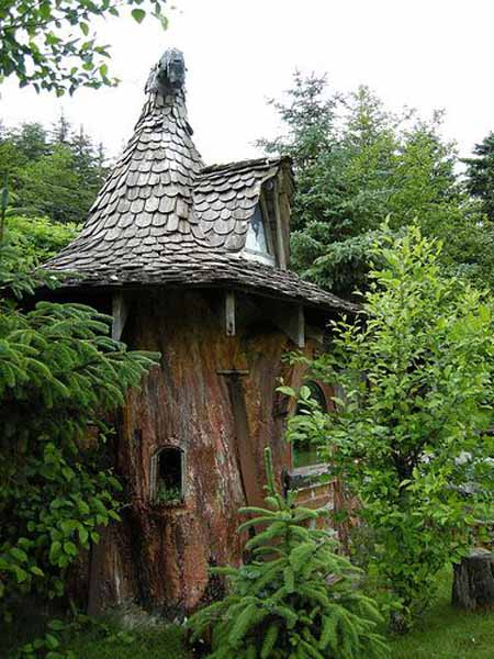 Old Tree Stump Ideas (12)