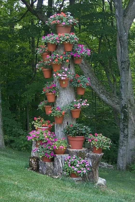 Old Tree Stump Ideas (2)