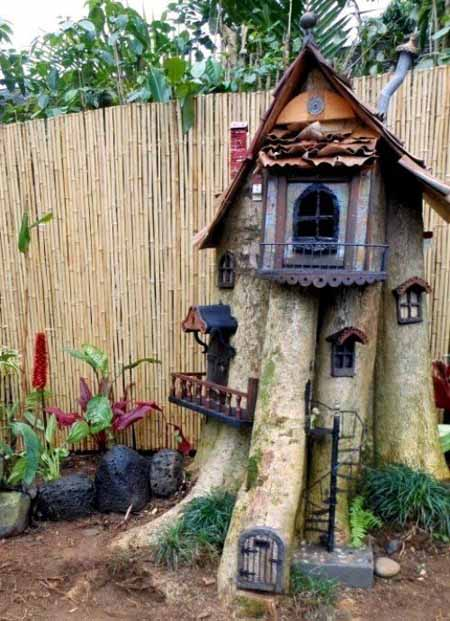 Old Tree Stump Ideas (22)