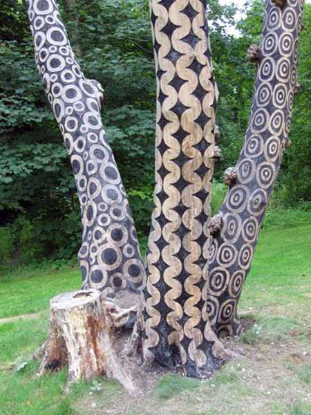 Old Tree Stump Ideas (27)
